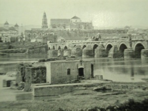 The bridge at Cordoba -- Spain from the South
