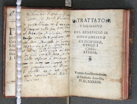 Trattato ultissimo del beneficio di Gieso Christo crocifisso verso i Christiani