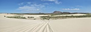 Sandy panorama in Boa Vista (Image taken from Wikimedia Commons)