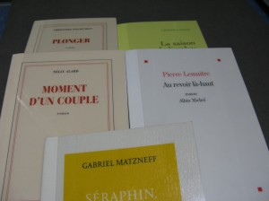A selection of French prizewinners (2013)