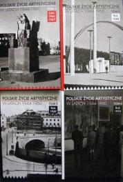 T. 1-4 of Polskie życie artystyczne w latach 1944-1960 (S950:01.b.153.1-4)