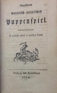 Neueröfnetes moralisch-politisches Puppenspiel (7001.d.268)