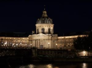 The Institut de France, seat of the Académie française. (Photo, flickr user Pierre Numérique