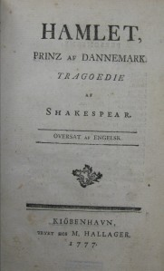 7000.e.100 - Hamlet, Prinz af Dannemark