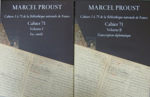 Proust cahiers - Covers
