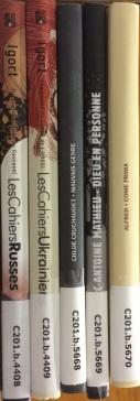 Recent graphic novel acquisitions.