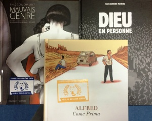 Recent prize-winning graphic novels.