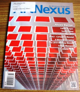 Recent issue of Art Nexus