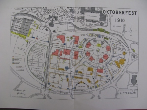 Plan of Oktoberfest 1910, S570.b.91.1