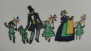 Dancing family, S570.b.91.1