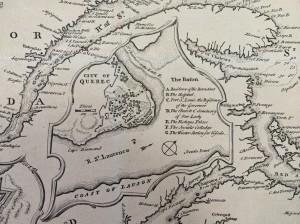 Québec City in 1744 - Maps.bb.821.75.1