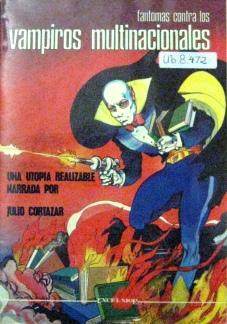 Cover of Fantomas contra los vampiros multinacionales (Ub.8.472)