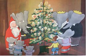Babar Christmas tree
