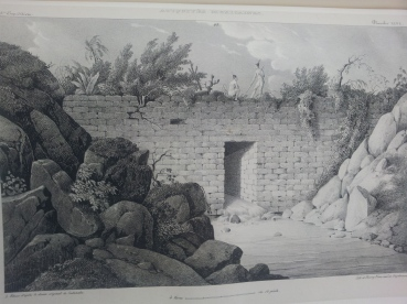 [3]Drawing  by L. Castañeda of 3rd expedition of G. Dupaix KB.6.7