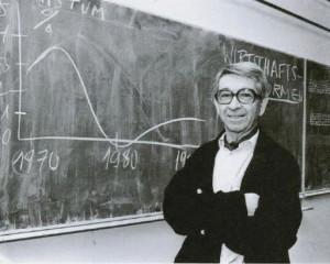 Jiri Kosta giving a lecture in Frankfurt