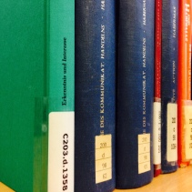 A few of the UL's holdings of Habermas' works.