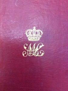 The crowned monogram of Marie-Louise