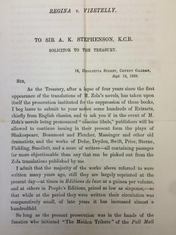 Letter from Henry Vizetelly (Ub.3.539)