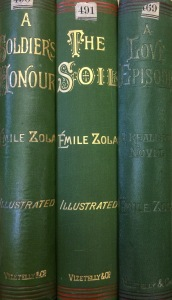 Vizetelly editions in the UL (1887.7.469, 1888.7.490, 1888.7.491)