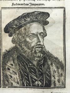 A Habsburg, from Annales, oder historische Chronick (Norton.b.19)