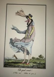 S950.a.9.570 - Modes et manières du jour à Paris à la fin du 18e siècle et au commencement du 19e : 1798-1808 / Debucourt ; texte par Roger-Armand Weigert.