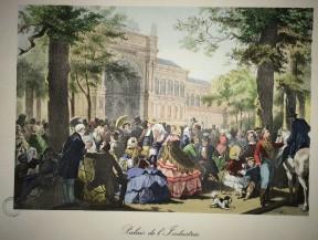 S950.a.9.571 - Paris miroir de la mode : crinolines et calèches, 1855-1867 / texte par François Boucher, conservateur honoraire du Musée Carnavalet.