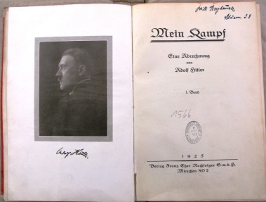 Title page of 1925 volume one (CCC.26:2.10)