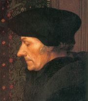 Erasmus by Hans Holbein the Younger via Wikimedia Commons