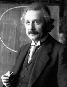 Picture of Einstein in 1921, Ferdinand Schmutzer via Wikimedia Commons