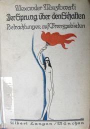 Front cover of Die Sprung der Schatten (9004.d.6361)