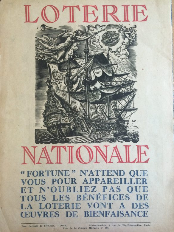 Loterie nationale (back cover)