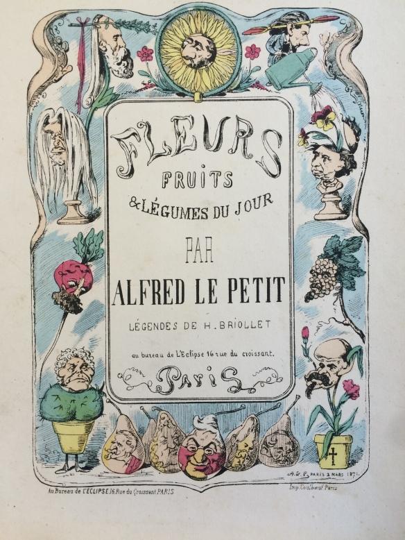 Fleurs, fruits & légumes du jour (8001.b.156) - Title page