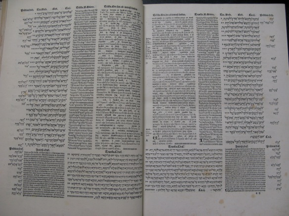 Pages from the Pentateuch in volume 1 (Young.1). Click on image to see enlarged.