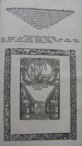 Colophon and printer's mark in volume 4. Click on image to see enlarged.