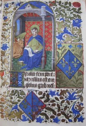 Beginning of St. Luke's Gospel (fol. 16)