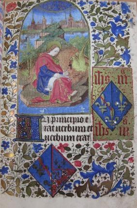 Beginning of St. John's Gospel (fol. 13)