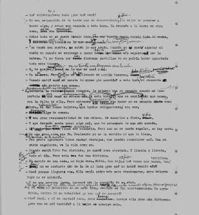 Manuscript of Cae la noche tropical