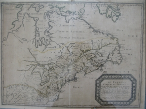 View 2: Sanson, Nicholas. Le Canada, ou Nouvelle France, 1656. Scale [ca. 1:9,300,000] Maps.bb.17.M.11
