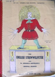 Cover of the rag book version of The English Struwwelpeter (1906.11.87)