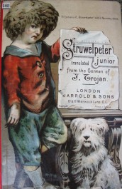 Cover of Struwelpeter Junior(1894.12.103) whichincludes Fred's visit to the zoo and careless Clara who left the bathtaps running