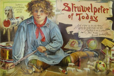 Cover ofStruwelpeter of today (1898.14.3)