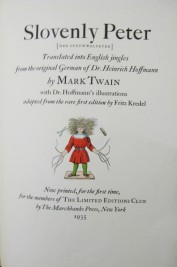 Title page of Mark Twain's translation (S700:01.a.1.214)
