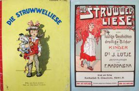 Covers of 2 versions of Struwwel-Liese(Waddleton.b.1.382& Waddleton.b.1.483)