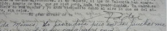 Max Aub letter