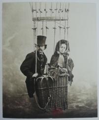 Félix and his wife, Ernestine, self-portrait, c. 1863. S950.b.201.5289