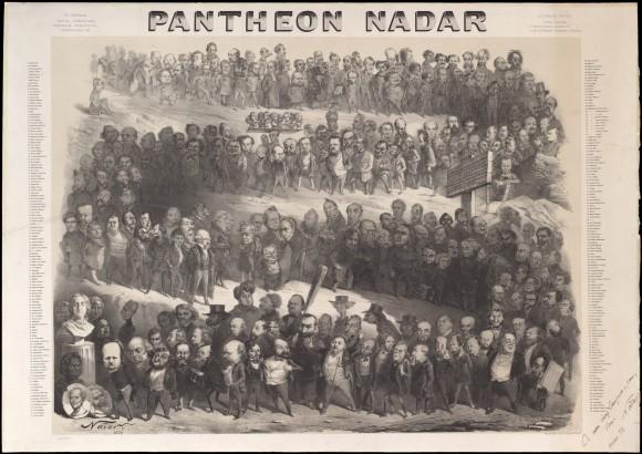 Pantheon Nadar (1854, via The Metropolitan Museum, NY)